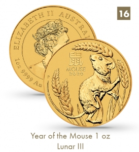 Year of the Mouse 1 oz - Lunar III