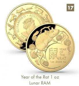 Year of the Rat 1 oz - Lunar RAM