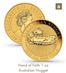 Hand of Faith 1 oz - Australian Nugget