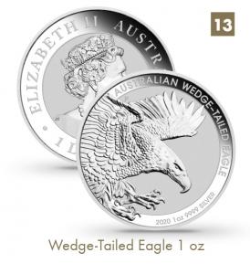 Wedge-Tailed Eagle 1 oz